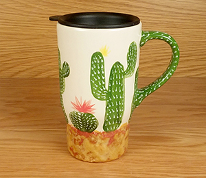 Snoqualmie Cactus Travel Mug