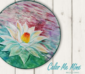 Snoqualmie Lotus Flower Plate