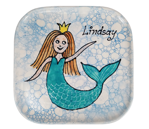 Snoqualmie Mermaid Plate