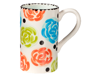 Snoqualmie Simple Floral Mug